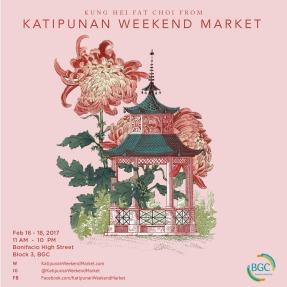 KWM Poster - February 16-18, 2018, Bonifacio High Street Activity Center, BGC